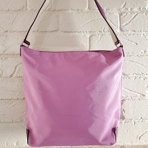 Tumi shoulder bag with matching pouch